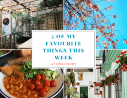 5 favourites things this week - March 31 2017