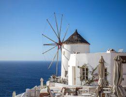 Windmills of Oia, Santorini
